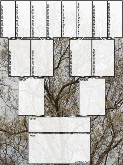 printable family tree diagram mopawiki family la familia