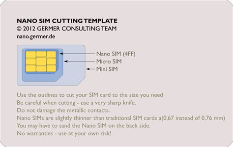 Nano Sim Card Template For Iphone 6 by Macnix How To Cut And Sand Your Sim Or Micro Sim To