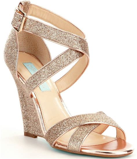 Gold Bridal Wedges by Gold Strappy Wedge Sandals Www Pixshark Images