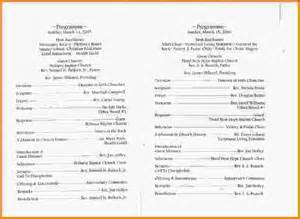 church programs templates 8 church program templates letterhead template sle