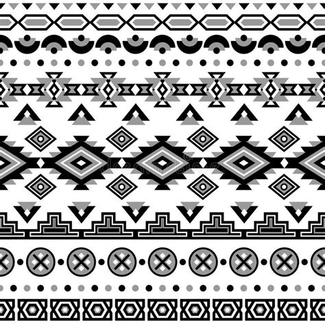 navajo pattern vector free ethnic striped seamless pattern stock vector