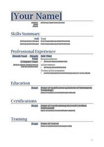 Blank Resume Template by Free Printable Blank Resume Forms 792 Http Topresume Info 2014 12 01 Free Printable Blank