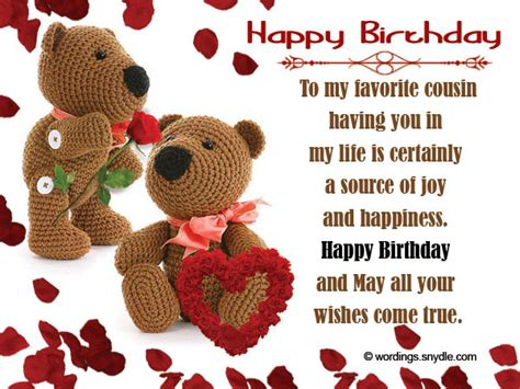 Wishing Happy Birthday To My Cousin 60 Happy Birthday Cousin Wishes Images And Quotes