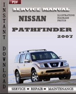 service manual 2007 nissan pathfinder free manual download nissan pathfinder 2007 free download pdf repair service manual pdf