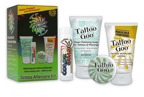 tattoo goo mexico tattoo goo aftercare kit productos para cuidar tu