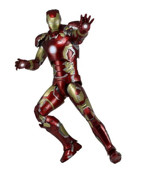 Cincin Ring Ironman Figure Box age of ultron 1 4 scale iron 43 necaonline