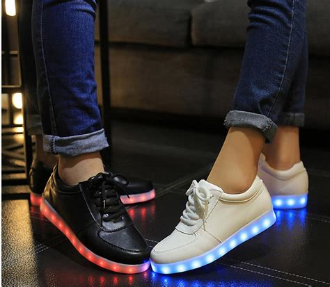 light up shuffle shoes autumn colorful flash light shoes shoes shuffle board shoe