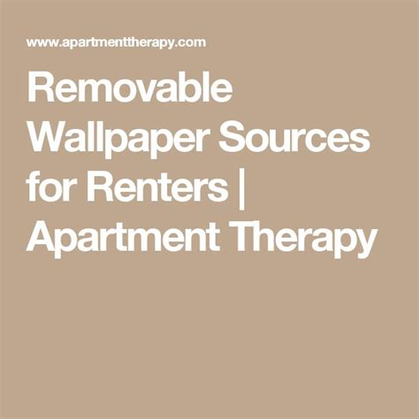 apartment therapy removable wallpaper gallery