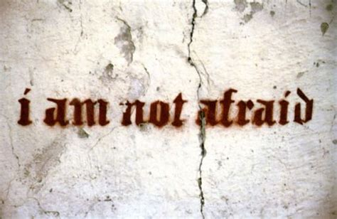 how to a not to be scared i m not afraid anymore strictly autobiographical