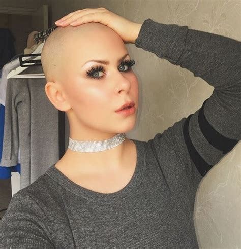 long to bald female haircuts 207 best bald 13 images on pinterest bald women buzz