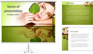 flyer template powerpoint cosmetics powerpoint template backgrounds id