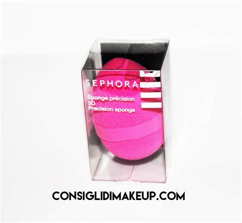 Blender Di Sephora review spugnetta precisione 3d viso sephora consigli