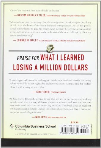 million dollar a restaurant memoir books what i learned losing a million dollars columbia business