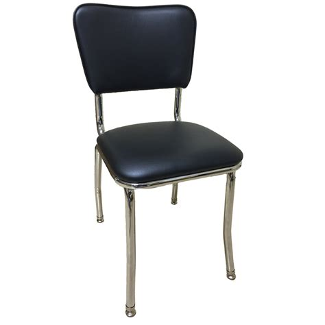 vintage padded stacking chairs retro style padded chrome chair retro collection chairs