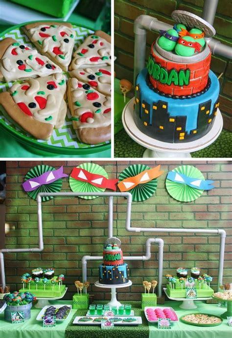 Tmnt Decorations by Decora 231 227 O Festa Infantil Tartarugas Ninjas Tartarugas