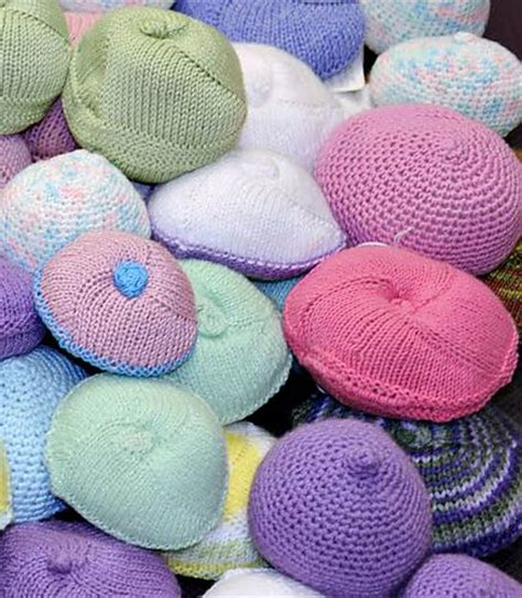 knitted knockers pattern ravelry knitted knockers prosthetic breast pattern by