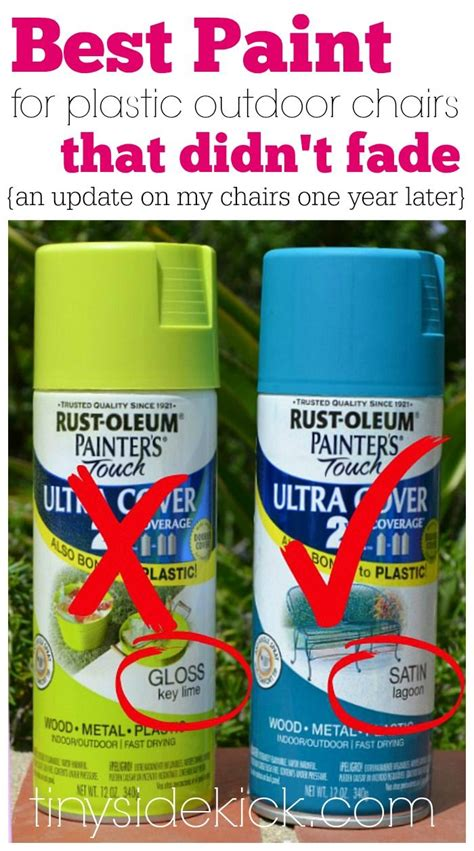 Best Spray Paint For Plastic Chairs - spray paint plastic on painting plastic