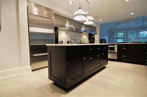 Black Shaker Styles Kitchen Cabinets Kitchens Black Shaker Kitchen Cabinets