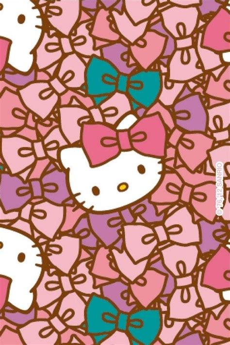 hello kitty tumblr themes hello kitty iphone wallpaper patters pinterest