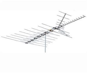 channel master 3678 ultra hi crossfire tv antenna fringe cross vhf uhf fm hd tv antenn