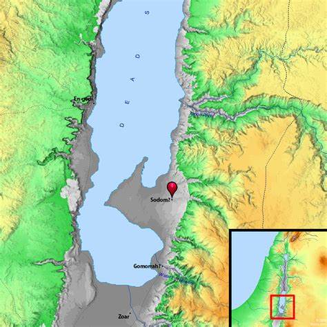 sodom and gomorrah map sodom gomorrah and the seismic history of the dead sea