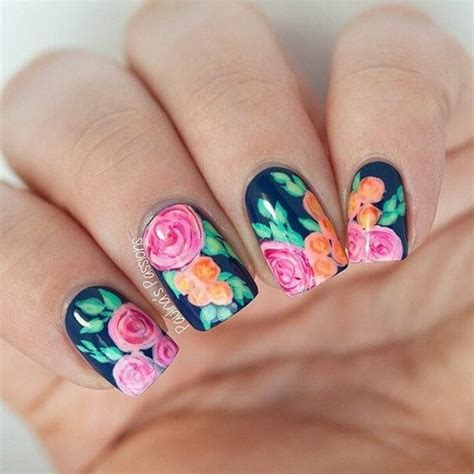 design flower for nail 45 pretty flower nail designs for creative juice