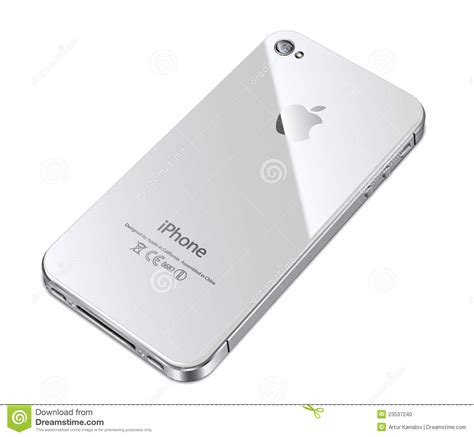 Apple Iphone 4s Back Glass apple iphone 4s white back editorial image image 23537240