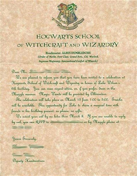hp templates for invitations harry potter party invitations hp party ideas pinterest