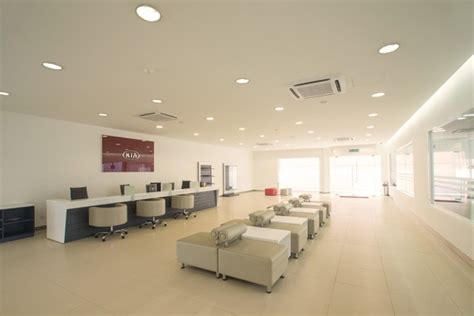 Kia Malaysia Service Centre Car Showroom Design Showroom Renovation Service Centre