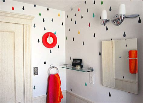 bathroom fun rainbow designs 20 colorful home decor ideas