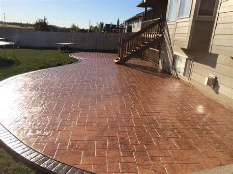 Stamped Concrete Designs In Perfect Finishing ? Home Ideas