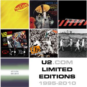 u2 fan club presale u2 fan club only releases limited editions discs 1995