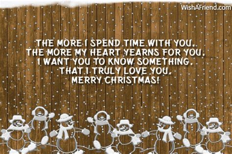spend time  christmas message  boyfriend