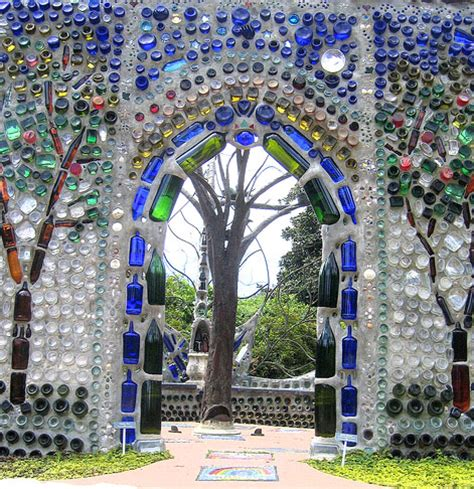 Vitreosity The Bottle Wall Wine Bottle Garden Wall