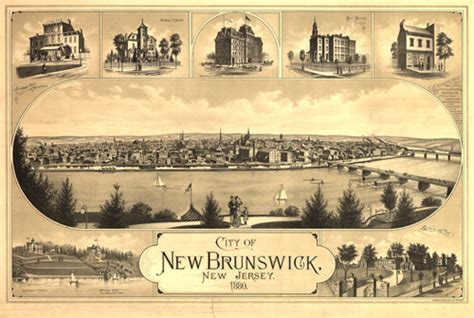 new brunswick new jersey in the world war 1917 1918 classic reprint books historical map of new brunswick nj 1880