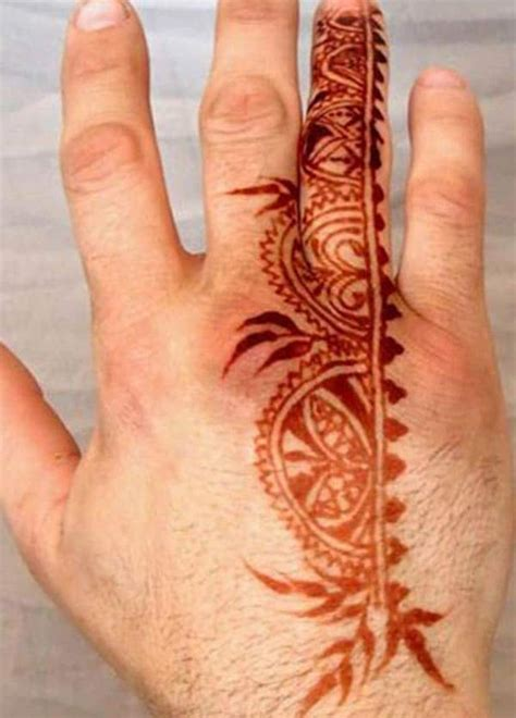henna tattoo on men henna mehndi designs idea for tattoos ideas