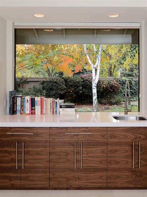 Tin Backsplashes For Kitchens by Contemporary Kitchen Window Treatments Hgtv Pictures