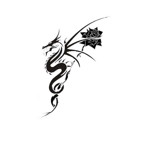 rose and dragon tattoo design flickr photo