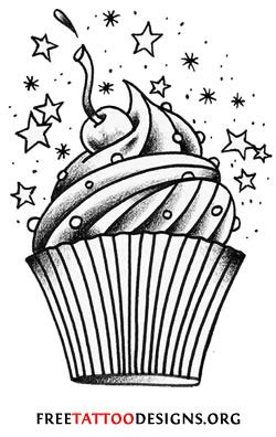 cupcake tattoo designs 55 cherry designs their meaning