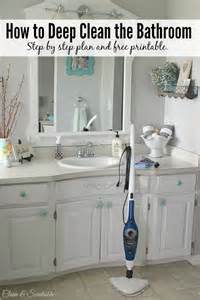 How To Deep Clean House by Deep Cleaning Bathroom Muster On Bathroom Zusammen Mit