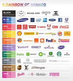 best logo colors the rainbow of brands reddoor creative