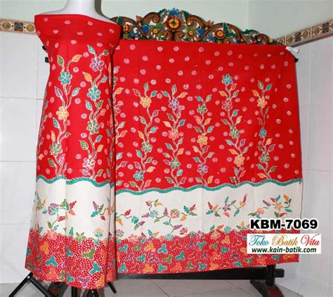 Kain Batik Katun Motif Madura batik madura tiga motif kbm 7069 kain batik murah