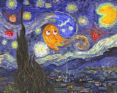 starry night at the arcade by sirnosh on deviantart