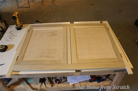 making inset cabinet doors our home from scratch
