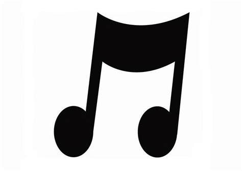 imagenes de notas musicales grandes para imprimir dibujo para colorear m 250 sica img 26718