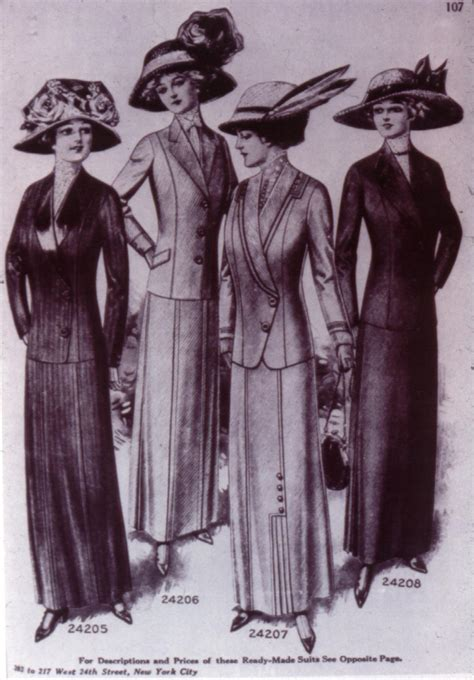 Wardrobe Womens Clothes by 1910 1919 Fashion Through The Decades