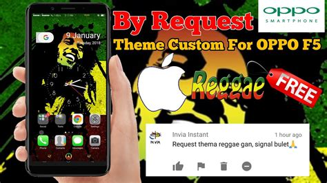 themes oppo f5 oppo f5 ios x reagge theme by request youtube