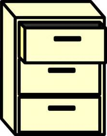 Free Filing Cabinet Filing Cabinet Clip At Clker Vector Clip Royalty Free Domain