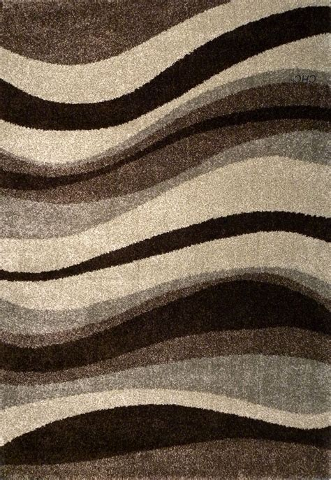 Abstract Modern Rugs Velvet Soft Pile Feels Like Silk By Modern Rug