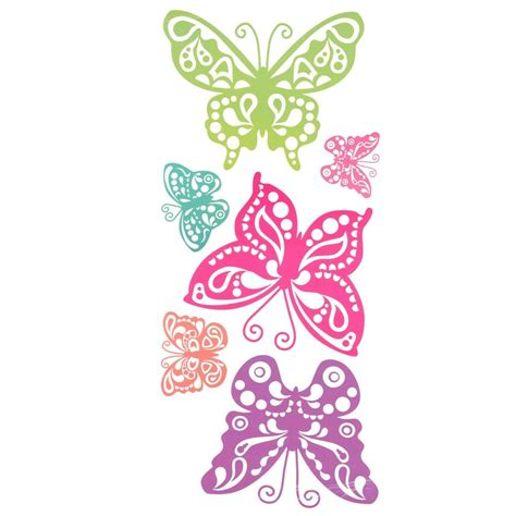 Wall Butterfly Stickers designer selection 10 giant butterfly wall stickers
